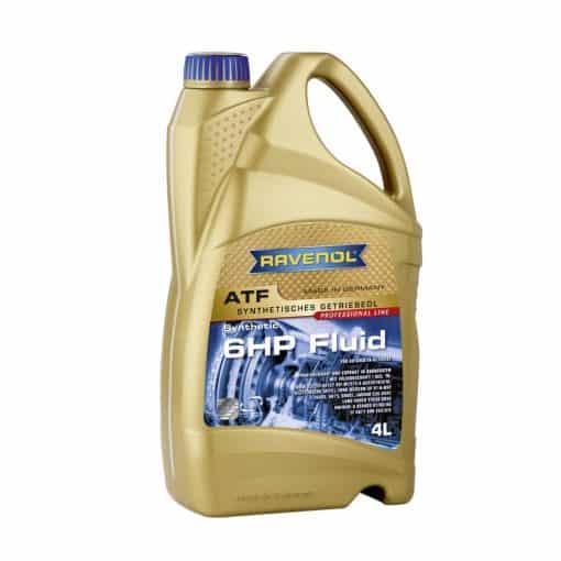 Трансмисионно масло RAVENOL ATF 6 HP Fluid 4L