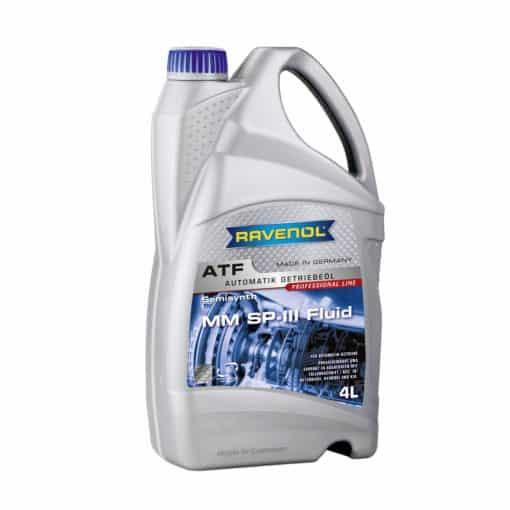 Трансмисионно масло Ravenol ATF MM SP-III Fluid 4L