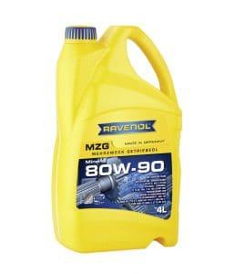 Трансмисионно масло Ravenol Getriebeoel MZG 80W90 GL 4 4L