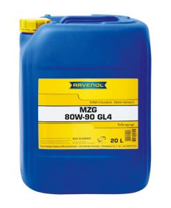 Трансмисионно масло Ravenol Getriebeoel MZG 80W90 GL 4 20L